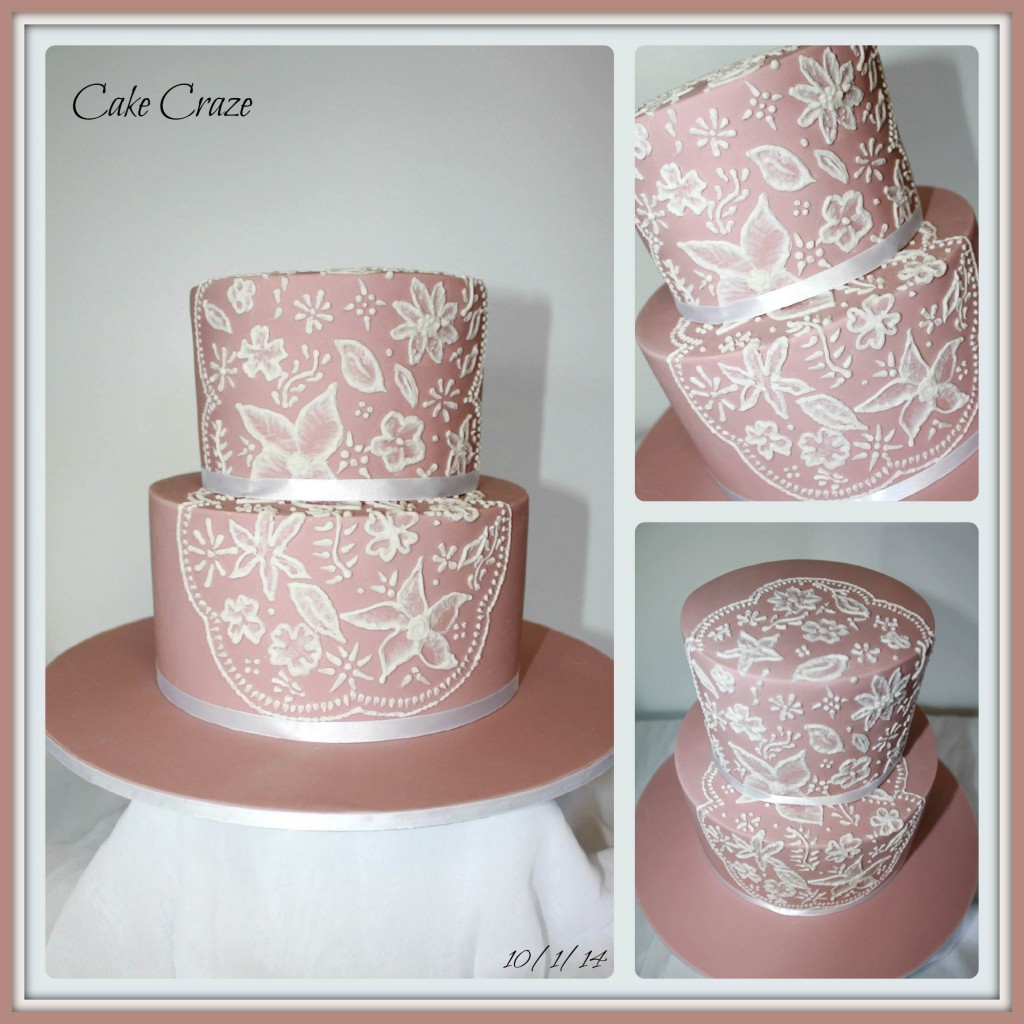 2 Tier Piped Lace