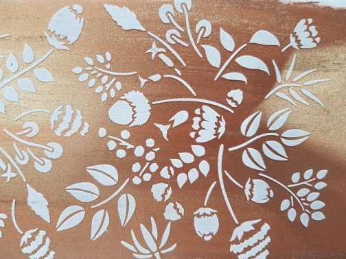 Cake Craze Stencils – Native Flora