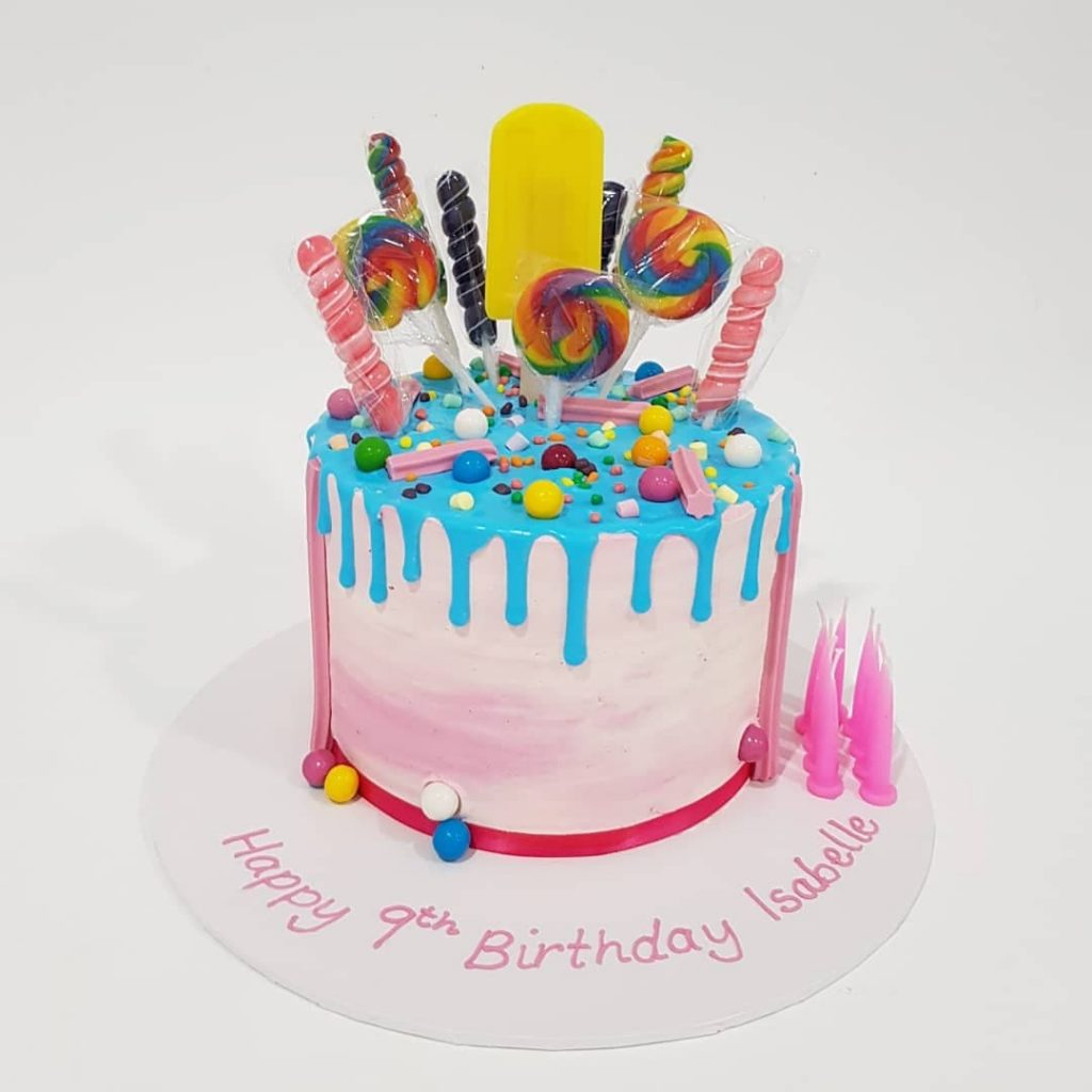 Loaded Lolly Cake